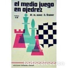 Coleccionismo deportivo: LIBRO EL MEDIO JUEGO EN AJEDREZ TOMO I-II. ENVIO GRATIS !. Lote 195533607