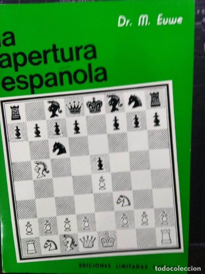 LIBRO AJEDREZ LA APERTURA ESPAÑOLA TOMO I. ENVIO GRATIS! (Coleccionismo Deportivo - Libros de Ajedrez)