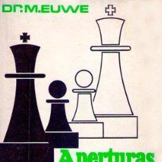 Coleccionismo deportivo: LIBRO AJEDREZ APERTURAS ABIERTAS. ENVIO GRATIS. Lote 195534341