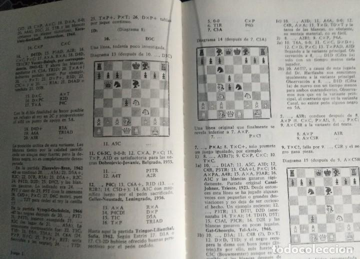 Coleccionismo deportivo: Libro ajedrez Aperturas Abiertas. Envio gratis - Foto 4 - 195534341
