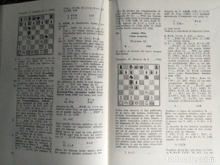 Coleccionismo deportivo: Libro ajedrez Aperturas Abiertas. Envio gratis - Foto 5 - 195534341