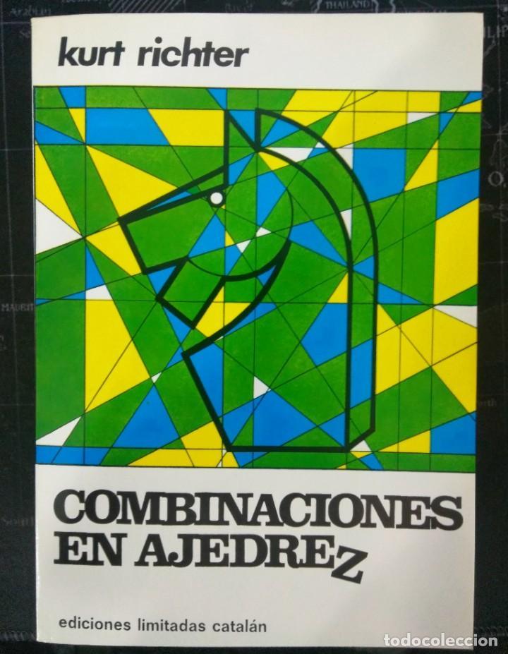 LIBRO COMBINACIONES EN AJEDREZ. ENVIO GRATIS! (Coleccionismo Deportivo - Libros de Ajedrez)