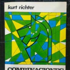 Coleccionismo deportivo: LIBRO COMBINACIONES EN AJEDREZ. ENVIO GRATIS!. Lote 195534520