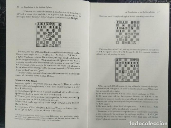 Coleccionismo deportivo: Libro ajedrez How to play The Sicilian Defence y envio gratis ! - Foto 2 - 197544918