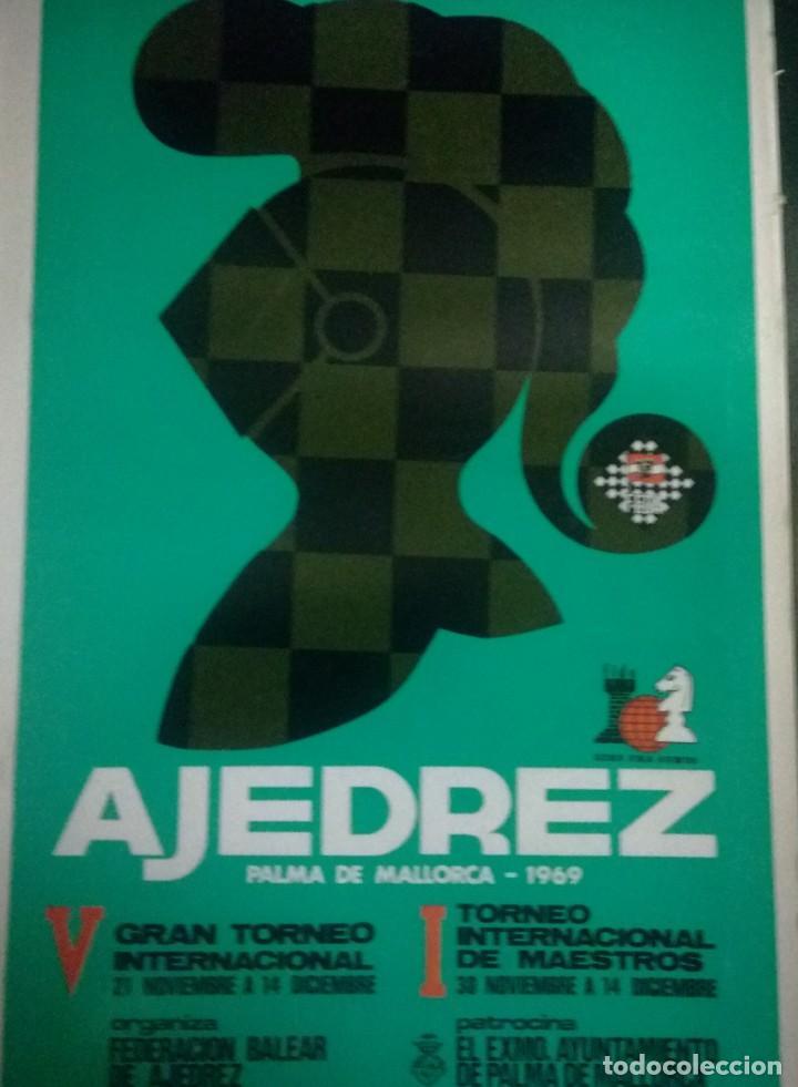 LIBRO AJEDREZ PALMA DE MALLORCA 1969 (Coleccionismo Deportivo - Libros de Ajedrez)