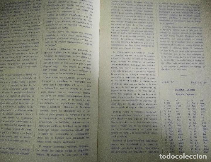 Coleccionismo deportivo: Libro ajedrez Palma de Mallorca 1969 - Foto 3 - 198026640