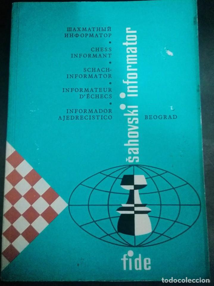 Coleccionismo deportivo: Sahovsky Informator 2 1974 - Foto 2 - 198027923