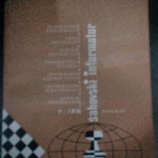 Coleccionismo deportivo: SAHOVSKY INFORMATOR 27 1979. Lote 198028763