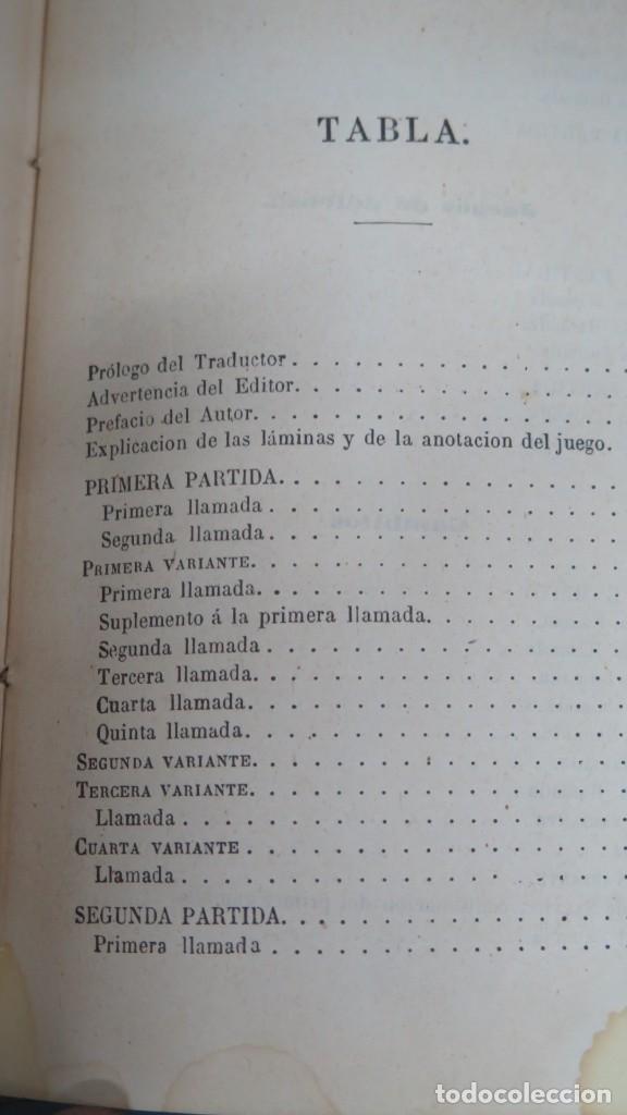 Coleccionismo deportivo: 1891.- ANALISIS DEL JUEGO DE AJEDREZ. FILIDOR - Foto 4 - 198418492