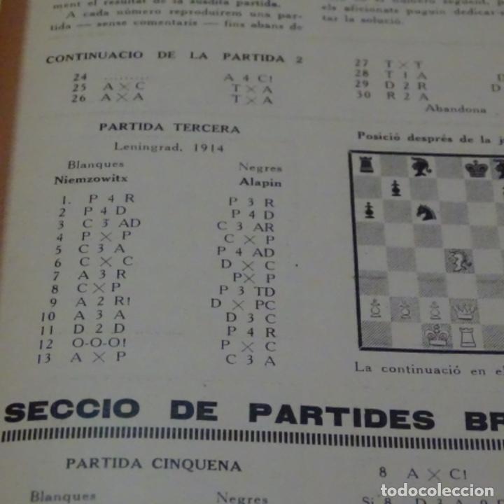Coleccionismo deportivo: Els escacs a catalunya.revista año 1927 completo (del 1 al 6).bien conservado. - Foto 2 - 199201978