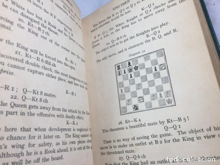 Coleccionismo deportivo: The elements of chess, By J. Du Mont. 1925 Elementos ajedrez. exlibris biblioteca New Haven - Foto 5 - 199288022