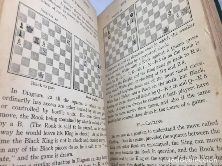 Coleccionismo deportivo: The elements of chess, By J. Du Mont. 1925 Elementos ajedrez. exlibris biblioteca New Haven - Foto 8 - 199288022