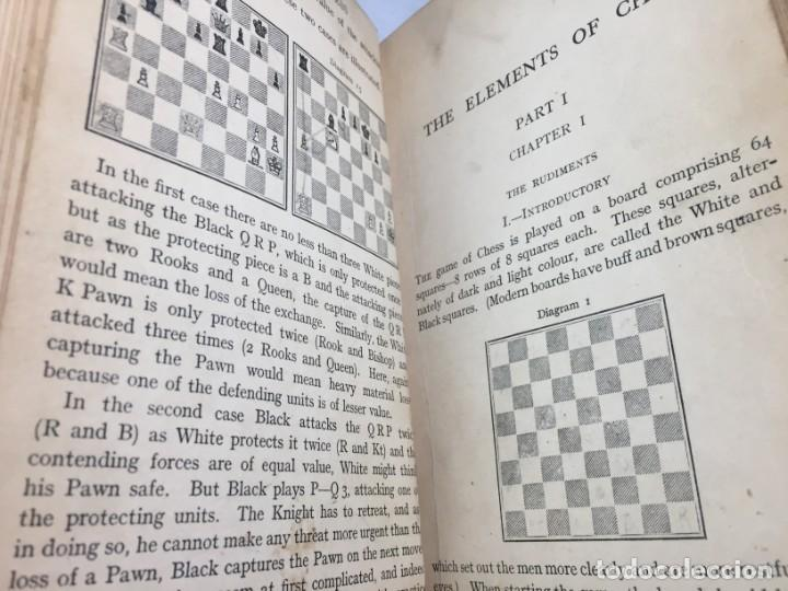 Coleccionismo deportivo: The elements of chess, By J. Du Mont. 1925 Elementos ajedrez. exlibris biblioteca New Haven - Foto 9 - 199288022