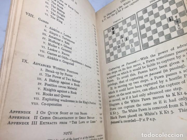 Coleccionismo deportivo: The elements of chess, By J. Du Mont. 1925 Elementos ajedrez. exlibris biblioteca New Haven - Foto 10 - 199288022