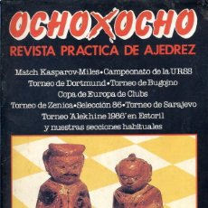 Coleccionismo deportivo: REVISTA PRACTICA DE AJEDREZ - OCHO X OCHO - Nº 52 - JULIO 1986. Lote 199558825