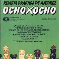 Coleccionismo deportivo: REVISTA PRACTICA DE AJEDREZ - OCHO X OCHO - Nº 25. Lote 199558870