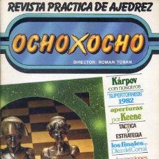 Coleccionismo deportivo: REVISTA PRACTICA DE AJEDREZ - OCHO X OCHO - Nº 6. Lote 199558942