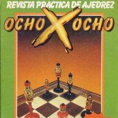 Coleccionismo deportivo: REVISTA PRACTICA DE AJEDREZ - OCHO X OCHO - Nº 1 - 1981. Lote 199558980