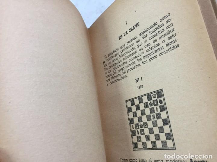 Coleccionismo deportivo: Combinación de temas en los problemas de ajedrez. Arnoldo ELLERMAN, Grabo, 1944. - Foto 10 - 199577241