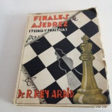 Coleccionismo deportivo: AJEDREZ. CHESS. FINALES DE AJEDREZ (PEONES) , REY ARDID CHESS SCHACH. Lote 199763515