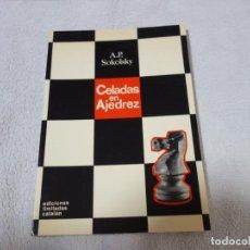 Coleccionismo deportivo: AJEDREZ.CHESS. A.P SOKOLSKY. CELADAS EN AJEDREZ.. Lote 202648592