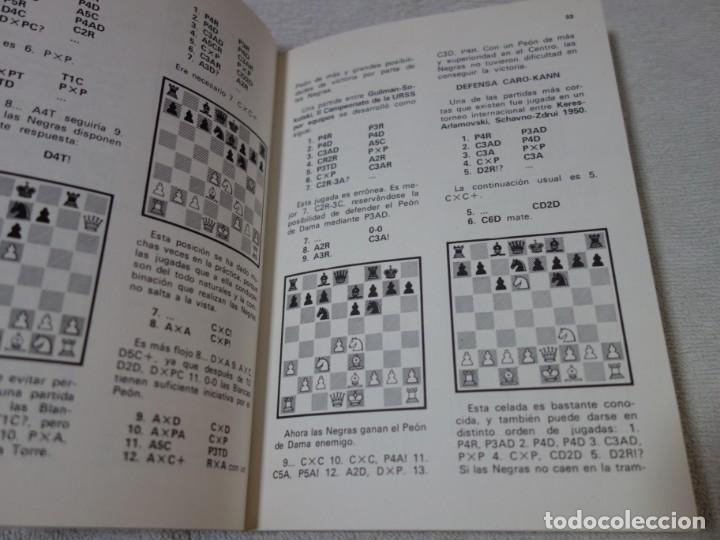 Coleccionismo deportivo: AJEDREZ.CHESS. A.P SOKOLSKY. CELADAS EN AJEDREZ. - Foto 2 - 202648592