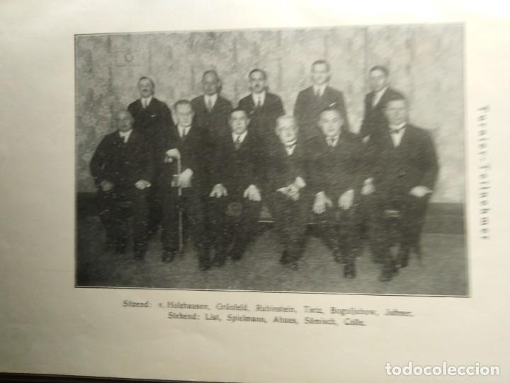 Coleccionismo deportivo: Internationales Schachturnier in Berlin vom 16. November bis 28. November 1926 AJEDREZ FREIEN SCHAC - Foto 3 - 204077098
