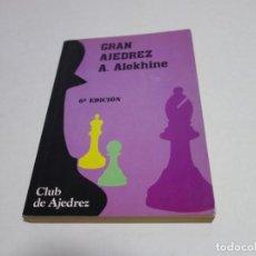Coleccionismo deportivo: AJEDREZ.CHESS. GRAN AJEDREZ. A. ALEKHINE. CLUB DE AJEDREZ.. Lote 204537875
