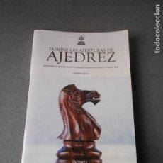 Coleccionismo deportivo: DOMINE LAS APERTURAS DE AJEDREZ. Lote 206251978