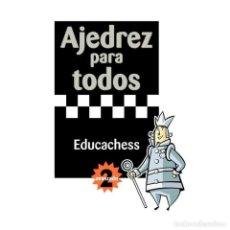 Coleccionismo deportivo: CHESS. AJEDREZ PARA TODOS. AVANZADO 2 - JORDI PRIÓ. Lote 206269581