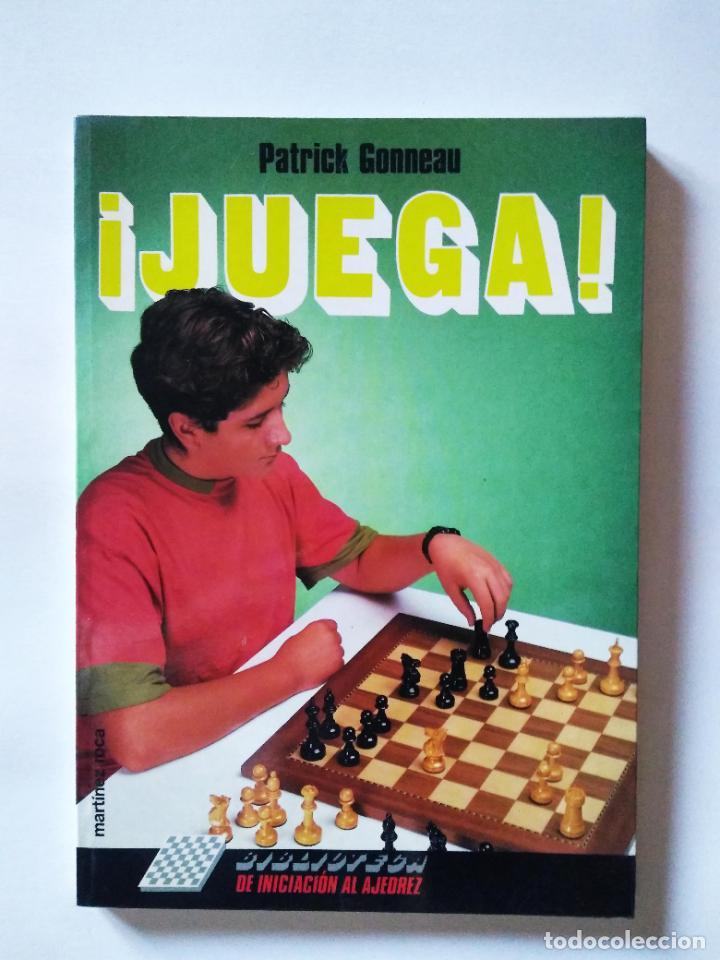 Coleccionismo deportivo: Biblioteca de iniciación al ajedrez. Juega, analiza, gana | Gonneau, Patrick | Martínez Roca 1990 - Foto 3 - 206834995
