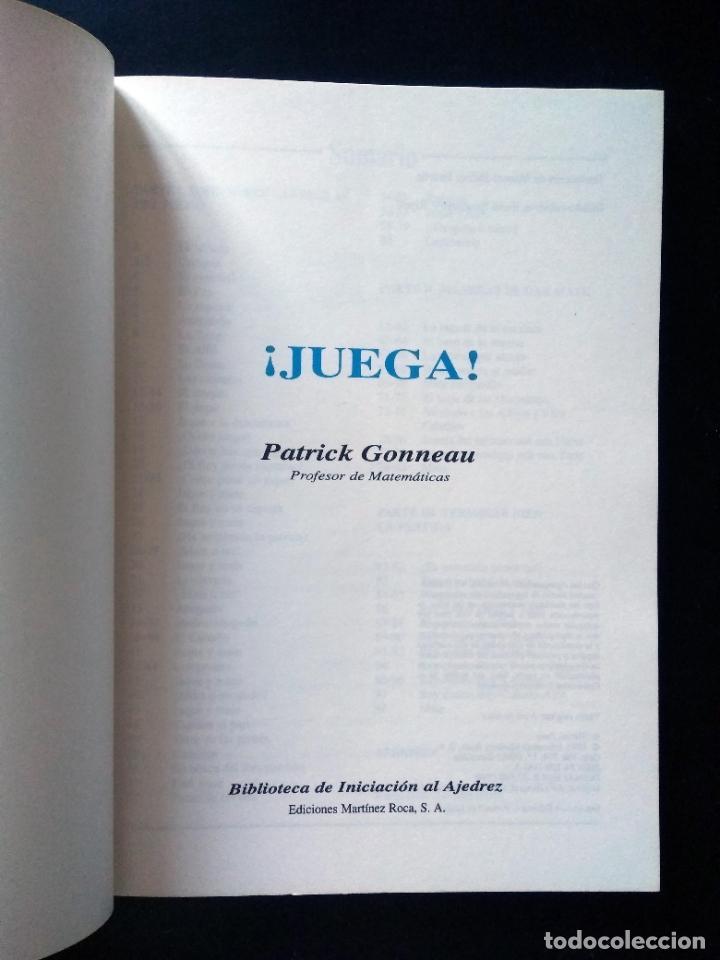 Coleccionismo deportivo: Biblioteca de iniciación al ajedrez. Juega, analiza, gana | Gonneau, Patrick | Martínez Roca 1990 - Foto 4 - 206834995