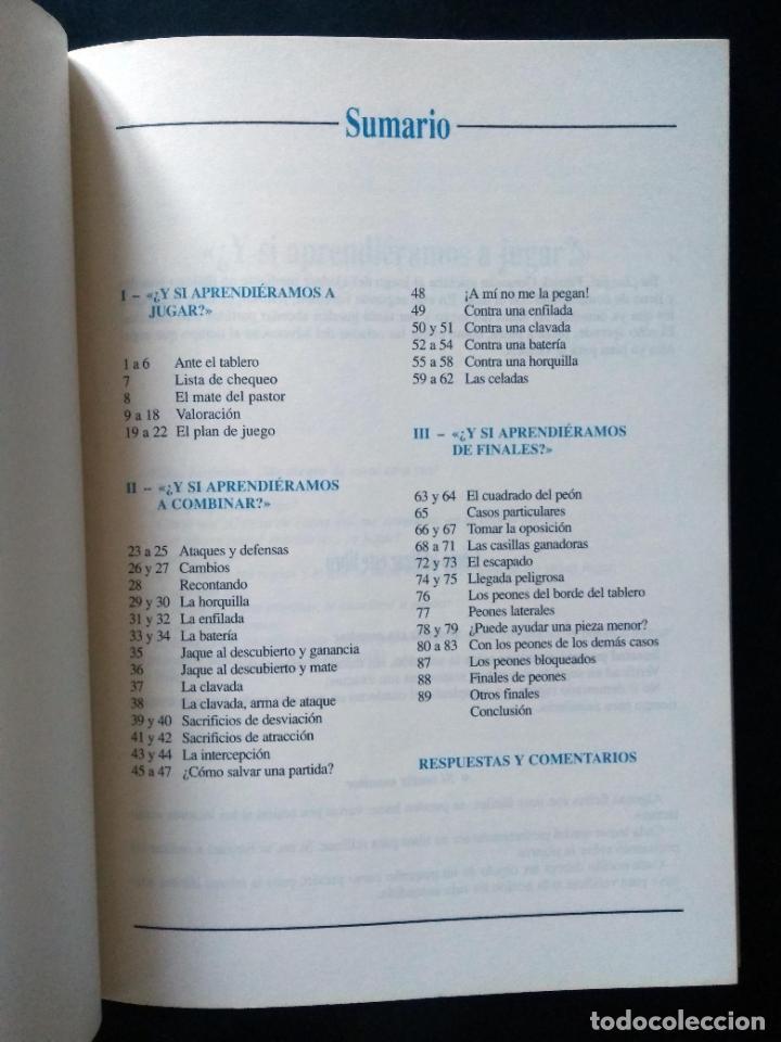 Coleccionismo deportivo: Biblioteca de iniciación al ajedrez. Juega, analiza, gana | Gonneau, Patrick | Martínez Roca 1990 - Foto 13 - 206834995