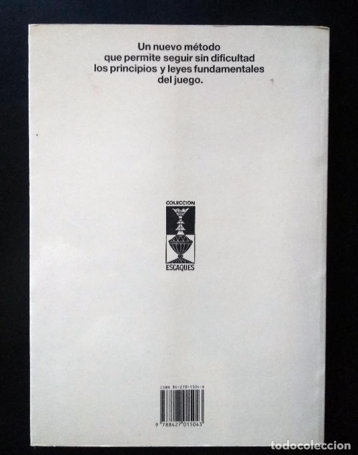 Coleccionismo deportivo: Biblioteca de iniciación al ajedrez. Juega, analiza, gana | Gonneau, Patrick | Martínez Roca 1990 - Foto 15 - 206834995
