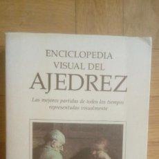 Coleccionismo deportivo: ENCICLOPEDIA VISUAL DEL AJEDREZ - MIGUEL GARCIA BAEZA. Lote 206904326