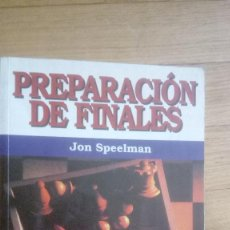 Collectionnisme sportif: PREPARACIÓN DE FINALES. JON SPEELMAN. (PAIDOTRIBO) 1ª EDICIÓN. Lote 207939358