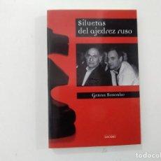 Coleccionismo deportivo: SILUETAS DEL AJEDREZ RUSO - GENNA SOSONKO - EDITORIAL DANCADREZ -(E3.1). Lote 208289818