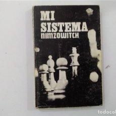 Coleccionismo deportivo: MI SISTEMA - NIMZOWITCH -(E3.1). Lote 208290856