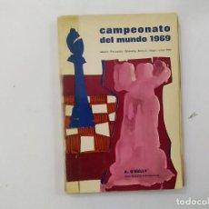 Coleccionismo deportivo: AJEDREZ - CAMPEONATO DEL MUNDO 1969 - MATCH PETROSSIAN-SPASSKY - O'KELLY -(E3.1). Lote 208292013