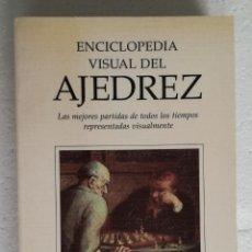 Colecionismo desportivo: ENCICLOPEDIA VISUAL DEL AJEDREZ - MIGUEL GARCIA BAEZA, 1995. Lote 208898777