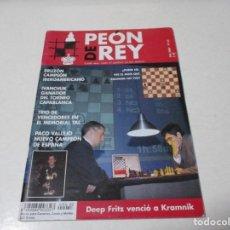 Coleccionismo deportivo: AJEDREZ.CHESS. PEÓN DE REY Nº 62 AÑO 2007. Lote 209297581