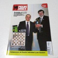 Colecionismo desportivo: AJEDREZ.CHESS. PEÓN DE REY Nº 96 AÑO OCT 2012. Lote 209297787