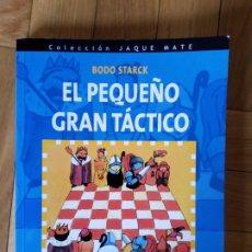 Coleccionismo deportivo: EL PEQUEÑO TÁCTICO. BODO STARCK. Lote 209652945