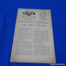 Coleccionismo deportivo: REVISTA DE AJEDREZ CAISSA NÚMERO 126.VARIANTE ESTOCOLMO.Y NÚMERO 112.. Lote 210153123