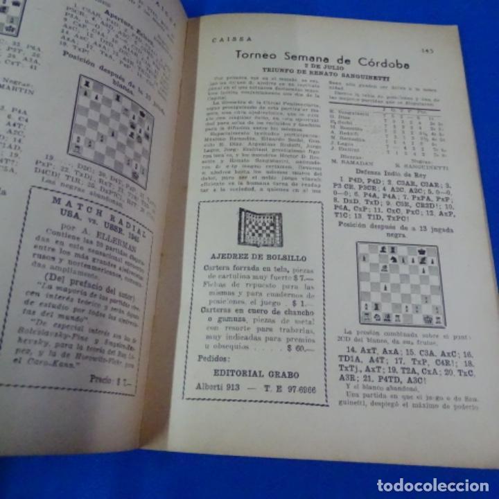 Coleccionismo deportivo: Revista de ajedrez caissa número 126.variante Estocolmo.y número 112. - Foto 3 - 210153123
