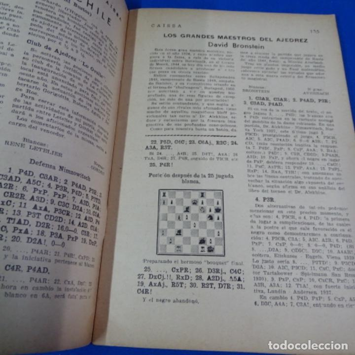 Coleccionismo deportivo: Revista de ajedrez caissa número 126.variante Estocolmo.y número 112. - Foto 4 - 210153123