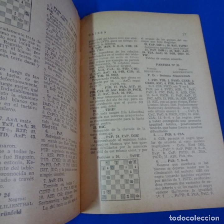 Coleccionismo deportivo: Revista de ajedrez caissa número 126.variante Estocolmo.y número 112. - Foto 6 - 210153123