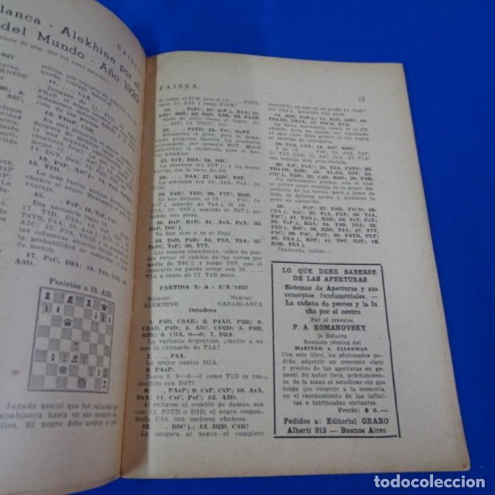 Coleccionismo deportivo: Revista de ajedrez caissa número 126.variante Estocolmo.y número 112. - Foto 7 - 210153123