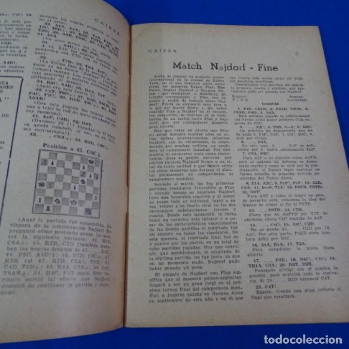 Coleccionismo deportivo: Revista de ajedrez caissa número 126.variante Estocolmo.y número 112. - Foto 8 - 210153123