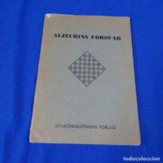 Coleccionismo deportivo: REVISTA DE AJEDREZ ALJECHINS FÖRSAR.N. KOPYLOV.UPPSALA 1966. Lote 210153238
